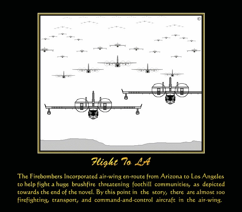 The Firebombers Incorporated Air Wing