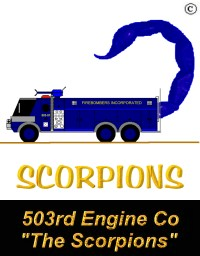 503rd Engine Company - The Scorpions