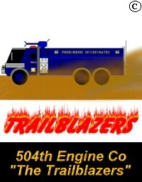 504th Engine Company - The Trailblazers